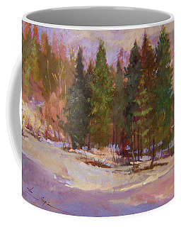 Winter's Eve Plein Air Coffee Mug