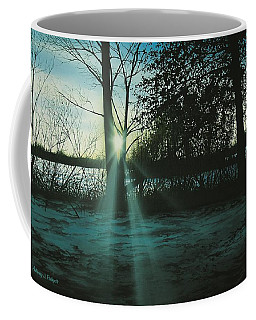 Winter's Evening Scout Coffee Mug