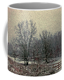 Winter's First Snowfall Coffee Mug