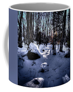 Coffee Mug featuring the photograph Winters Shadows by David Patterson