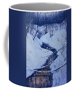 Winter's Stream Coffee Mug
