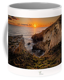 Winter's Sunset Coffee Mug