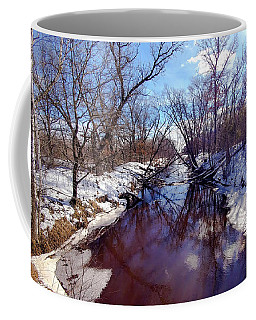 Wintertime In Necedah  Coffee Mug
