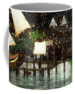 Wintery Inn Coffee Mug