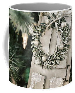 Wintry White Coffee Mug by JAMART Photography
