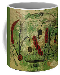 Wired Composition Enigma Coffee Mug