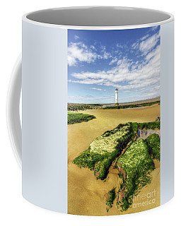 Wirral Lighthouse Coffee Mug by Ian Mitchell