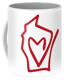 Wisconsin Love Coffee Mug