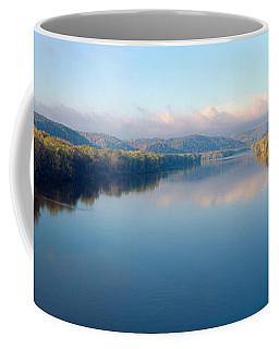 Wisconsin River And Prairie De Chen Coffee Mug