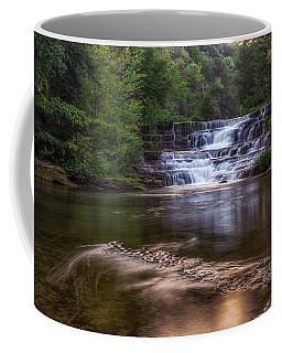 Coffee Mug featuring the photograph Wiscoy Falls by Mark Papke