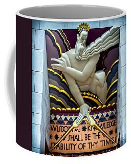 Wisdom And Knowledge Coffee Mug