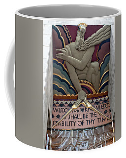 Wisdom Lords Over Rockefeller Center Coffee Mug