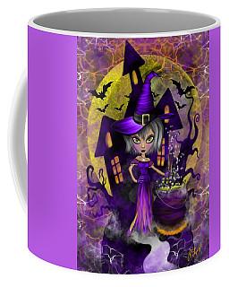 Wisdom Witch Fantasy Art Coffee Mug