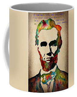 Wise Abraham Lincoln Quote Coffee Mug