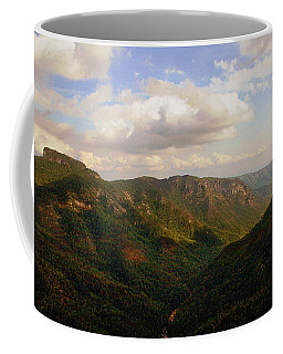 Coffee Mug featuring the photograph Wiseman's View by Jessica Brawley