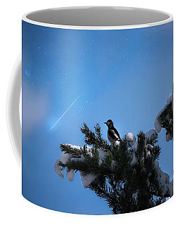 Wish Upon A Shooting Star Coffee Mug by Rose-Marie Karlsen