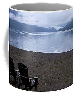 Coffee Mug featuring the photograph Wish You Were Here - Peaceful Lake by Jane Eleanor Nicholas