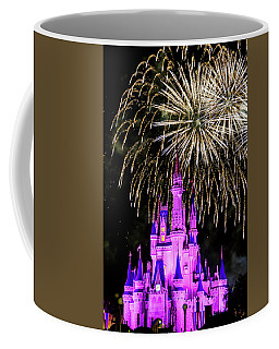 Wishes Fireworks Disney World  Coffee Mug