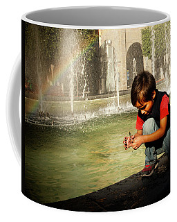 Wishing Under The Rainbow Coffee Mug