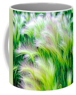 Wispy Green Coffee Mug