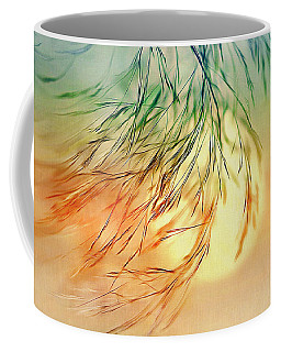 Wispy Sunset-0 Coffee Mug by Nina Bradica