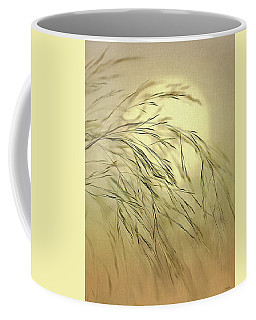 Wispy Sunset-4 Coffee Mug by Nina Bradica