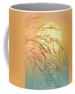 Wispy Sunset-7 Coffee Mug by Nina Bradica