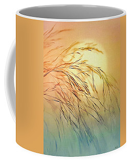 Wispy Sunset Coffee Mug by Nina Bradica