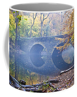 Coffee Mug featuring the photograph Wissahickon Creek At Bells Mill Rd. by Bill Cannon
