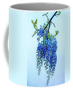 Coffee Mug featuring the photograph Wisteria by Chris Lord