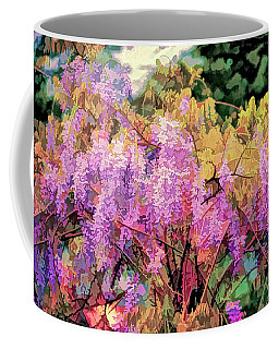 Wisteria In The Spring Coffee Mug