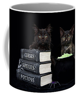 Witch Kittens Halloween Fun Coffee Mug