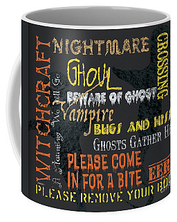 Witchcraft Typography Coffee Mug