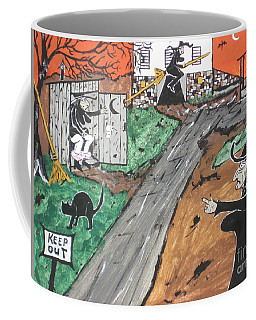 Witches Outhouse Coffee Mug