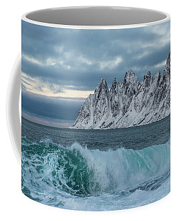 With A Curl Of My Lip Coffee Mug by Alex Lapidus