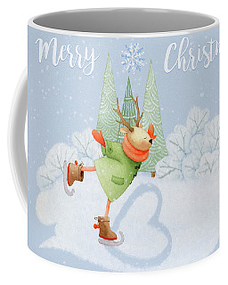 With All My Heart - Christmas Art Coffee Mug