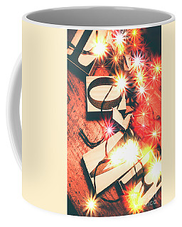 With Love And Lights Coffee Mug