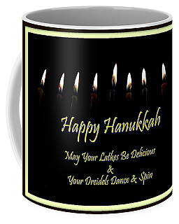 With Love On Hanukkah Coffee Mug