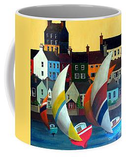 With The Wind In Kinsale, West Cork Coffee Mug
