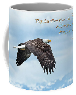 With Wings As Eagles Coffee Mug
