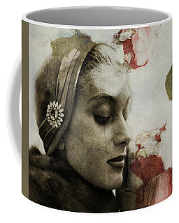 Coffee Mug featuring the mixed media Without You  by Paul Lovering