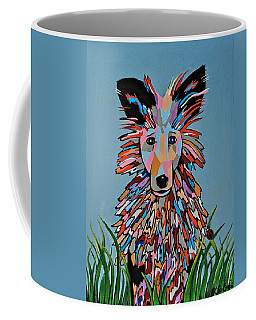 Wiz - Dog Art Coffee Mug