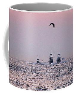 Coffee Mug featuring the photograph Wmo 2018 Under Pink Skies by Robert Banach