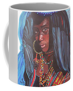 Virtuous Wodaabe Girl          From The Attitude Girls  Coffee Mug