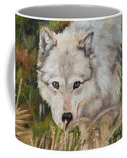 Wolf Among Foxtails Coffee Mug