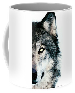 Wolf Art - Timber Coffee Mug