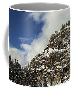 Wolf Creek Pass In Winter Coffee Mug