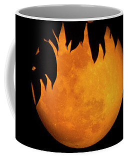 Coffee Mug featuring the photograph Wolf Moon by Mark Andrew Thomas