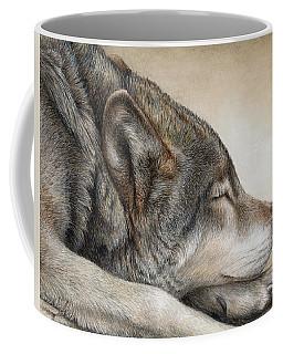 Wolf Nap Coffee Mug by Pat Erickson