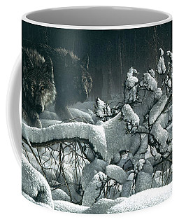 Wolf Pack - Snow Pack Coffee Mug